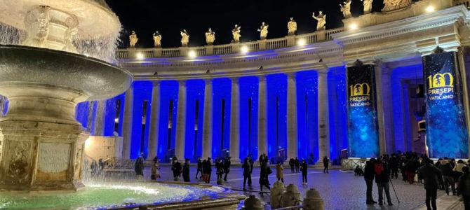 Mednarodna razstava jaslic v Rimu – 100 presepi